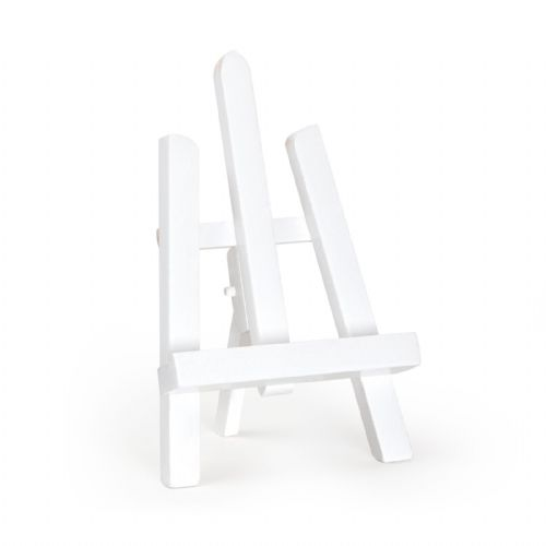 "White Colour Easel Essex 11"" - Beech Wood"